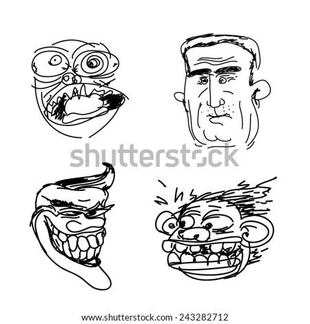 trollface set