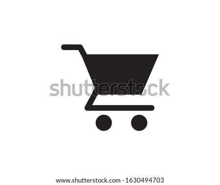 trolly icon, shop icon, store