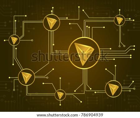tron blockchain design