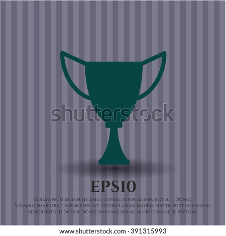 Trophy high quality icon