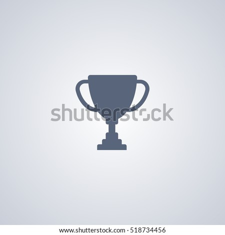 Trophy icon, cup icon