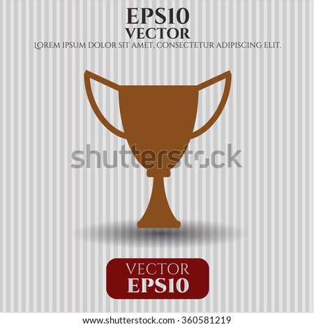 Trophy icon or symbol