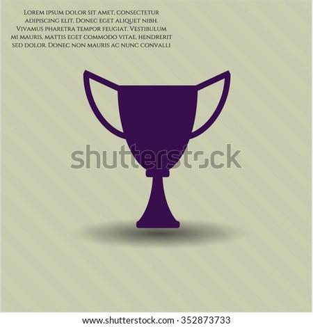 Trophy symbol