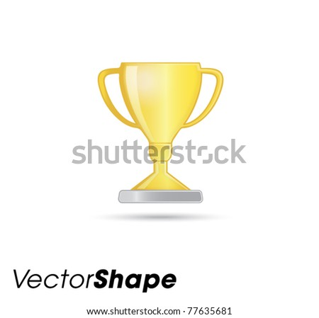 Trophy web application icons vector illustration