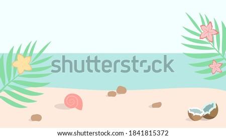 tropical beach ocean coast