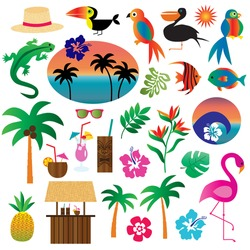 Tropical Clip art