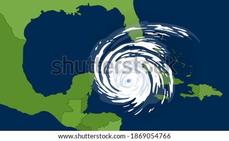 tropical cyclone in the gulf of