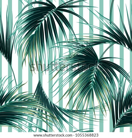 tropical exotic seamless vector