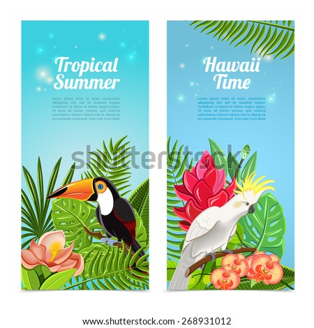 tropical hawaii islands summer