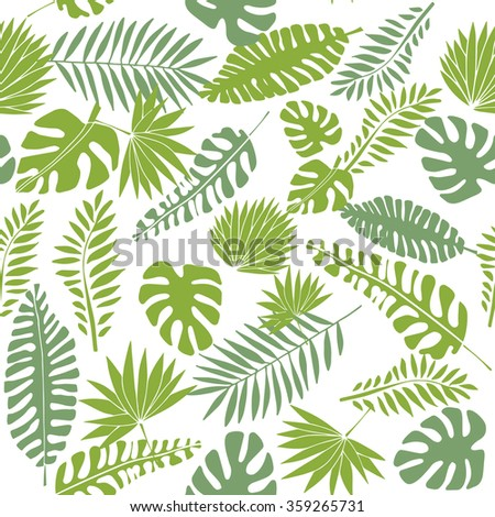 Vector Images Illustrations And Cliparts Tropical Leaf Print Seamless Pattern Green Leaves Pattern Hqvectors Com You can print at home, at your local print shop, or upload the files to an online. tropical leaf print seamless pattern