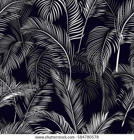 tropical seamless wallpaper