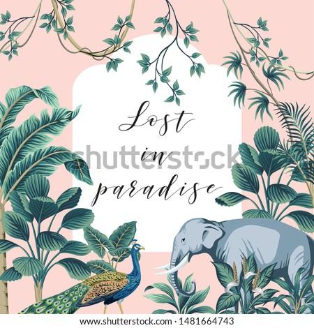 tropical summer paradise slogan