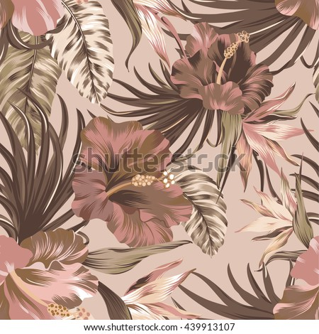 tropical wallpaper seamless