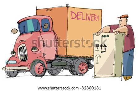 truck and loader worker