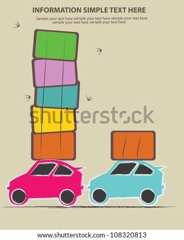 Truck cartoon,Vector