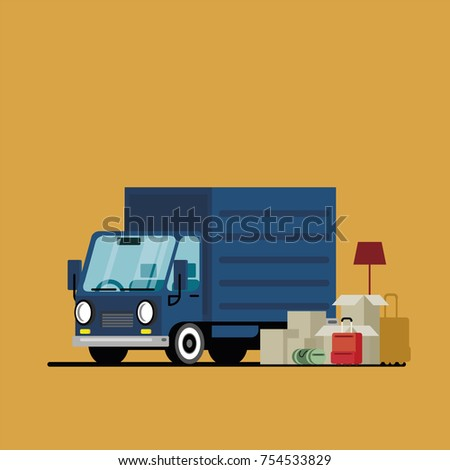 truck delivery wagon rides at