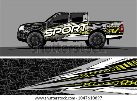 truck graphic vector kit