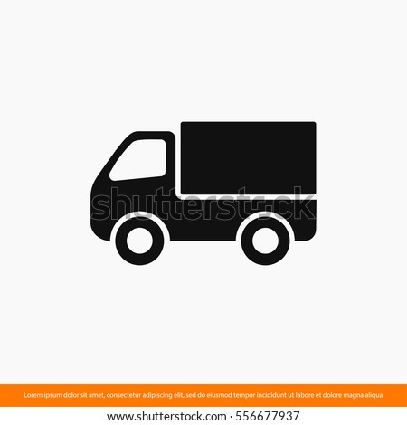 truck icon  icon  delivery one