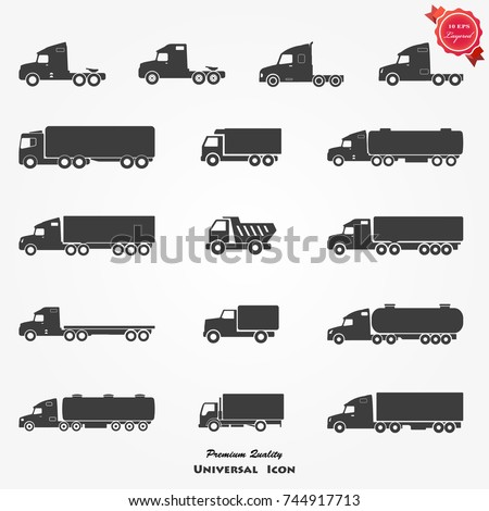 Truck Icon, Truck Icon Vector