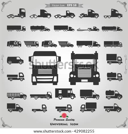 truck icon  truck icon vector