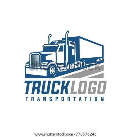 Truck Trailer Logo Transportation