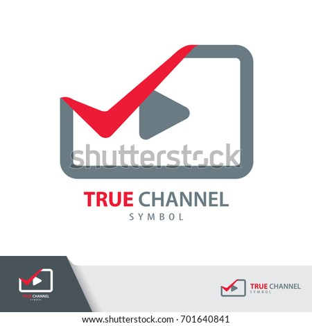 true channel symbol icon