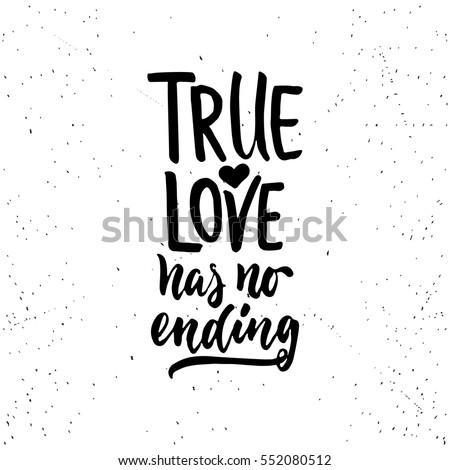 true love has no ending