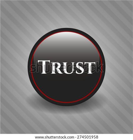 Trust black badge