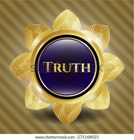 Truth gold flower