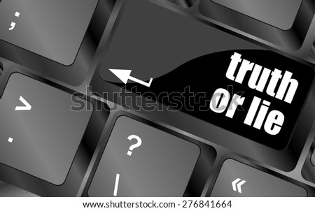Truth and lies about the computer
