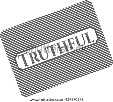 Truthful pencil effect