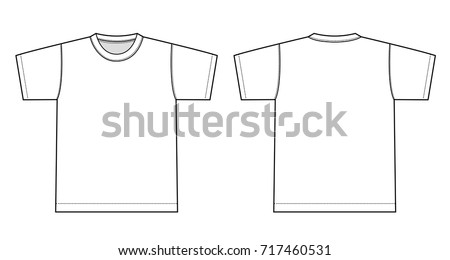 Tshirts illustration (white)