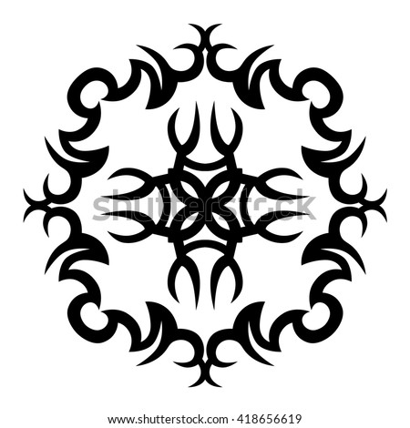 Ttribal Tattoo Vector Designs Sketch Simple Logo Designer Isolated