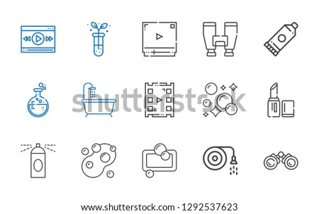 Video Player Line Black Icon Vector - Download Free Vector
