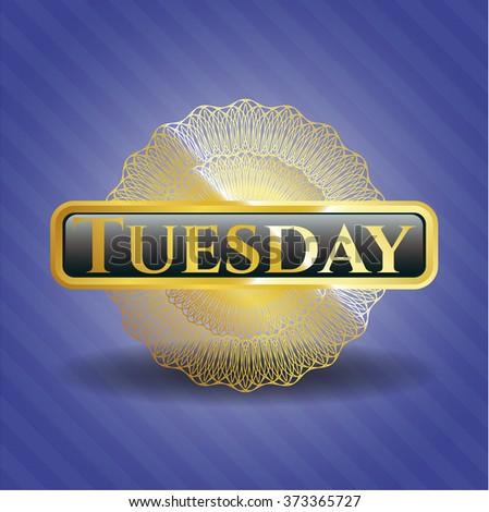 Tuesday gold emblem
