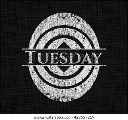 Tuesday on blackboard