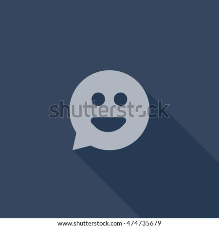 tumblr messaging icon vector