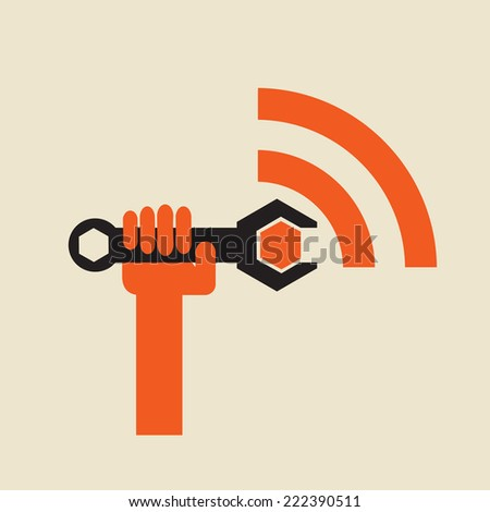 tune the wireless signal - digital transmission repair or maintenance