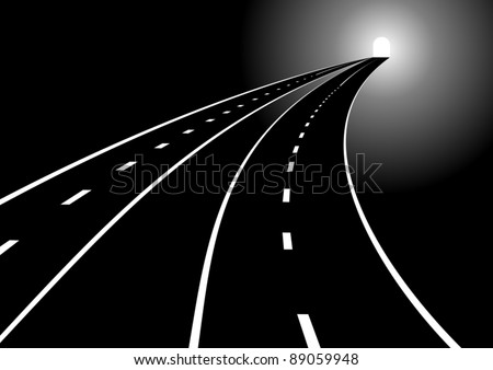 tunnel and two main roads with
