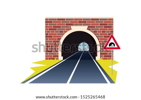 tunnel road concept horizontal
