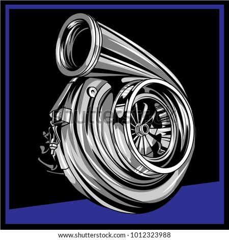 turbo illustration eps10