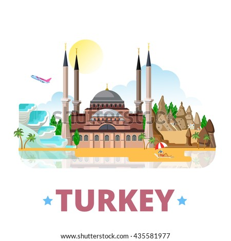 turkey country design template