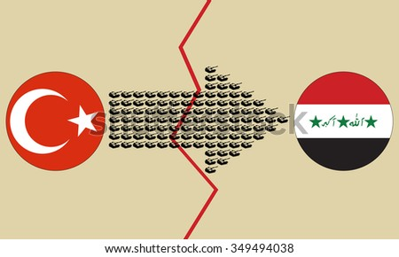 turkey iraq conflict creative