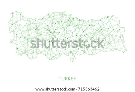 Free Vector Map of Turkey Free Vector Art at Vecteezy