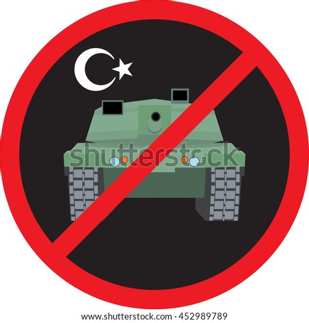 turkey military coup tank