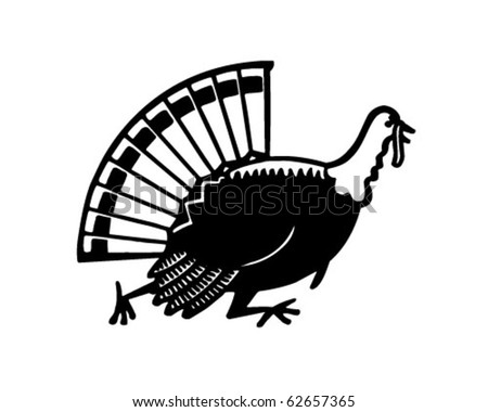 Running Turkey Clip Art http://www.shutterstock.com/pic-62657365/stock-vector-turkey-running-retro-clipart-illustration.html
