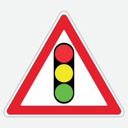 Turkey Traffic Sign: Light Signaling Device (T-16)