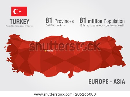 Free vector map of turkey free vector art at vecteezy turkey world map with a pixel diamond texture world geography gumiabroncs Images
