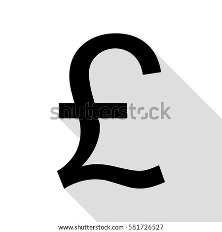 turkish lira sign black icon