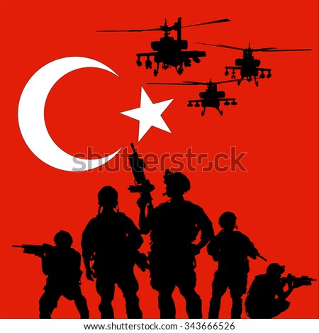 turkish soldier with